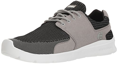 Etnies Men's Scout XT Skate Shoe, Grey/Black, 10.5 Medium US ()