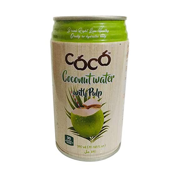 Coco Coconut Water with Pulp, 310 ml