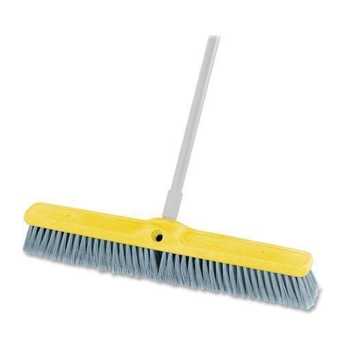 (9B0200 GRAY Rubbermaid Fine Floor Sweep Broom - 1 Each - Gray)