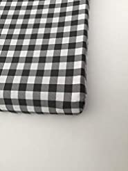 Changing Pad Cover - Black Buffalo Plaid...