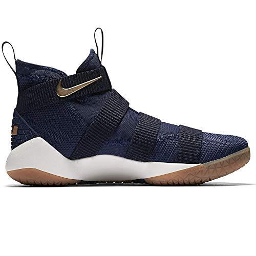 Gold Metallic Soldier Lebron Homme De Midnight Pour Navy Chaussures Ix Nike Basket PfvnZWf7