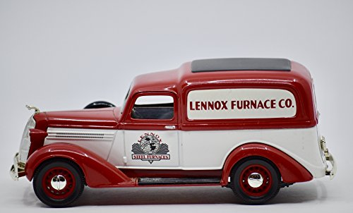 Lennox 1996 - Liberty Classics Exclusive - 1936 Dodge Panel Delivery Truck Bank w/ Key - Rare - Collectible