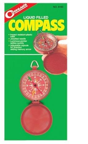 Coghlans Pocket Compass - Black by Coghlans Coghlans Pocket Compass