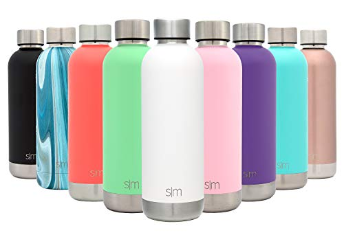 A-bolt Matte (Simple Modern 25oz Bolt Sports Water Bottle - Stainless Steel - Double Wall Vacuum Insulated - Leak Proof Bottle -Winter White)