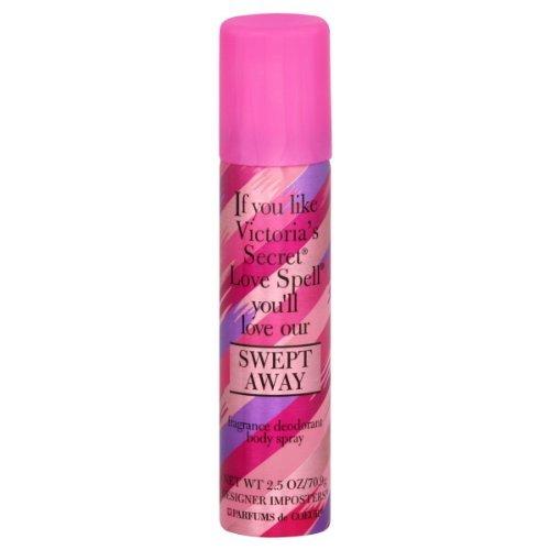Imposters Fragrance (Swept Away 2.5 oz Fragrance Body Spray by Designer Imposter)