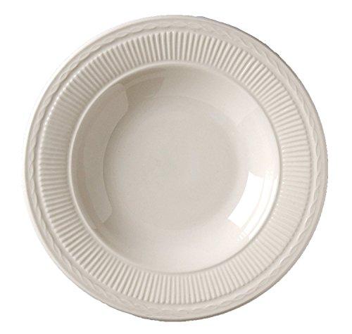 Vertex China win-3Windsor cuencos para sopa con borde # 6, 9–1/5.1cm, 14–3/4onzas., blanco americano...