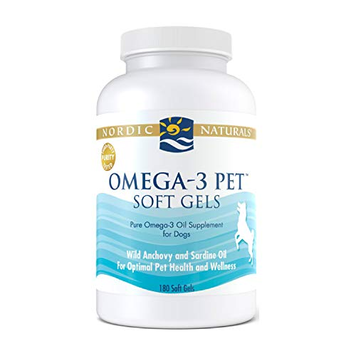 Nordic Naturals Omega 3 Pet – Special Dog Formula Fish Oil Omega-3s, EPA, DHA Supports Skin, Coat, Joint, Heart and…