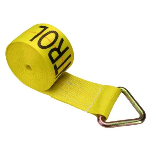 4'' x 30' Winch Straps with D-Ring - 10 Pack by US Cargo Control (Image #3)