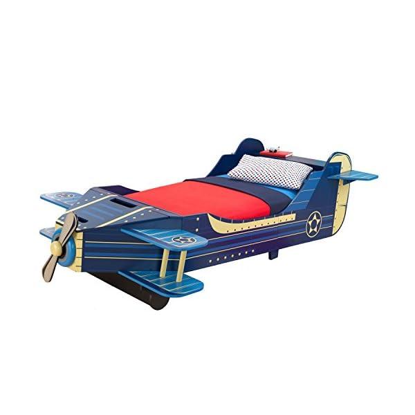 KidKraft Airplane Toddler Bed 2