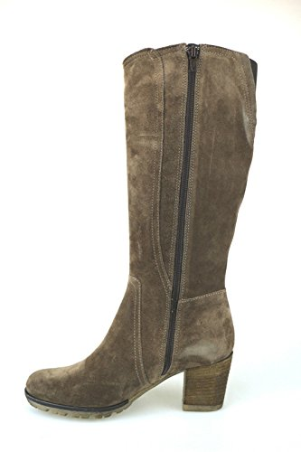 Schuhe Damen KEYS Stiefel Braun Wildleder AJ125