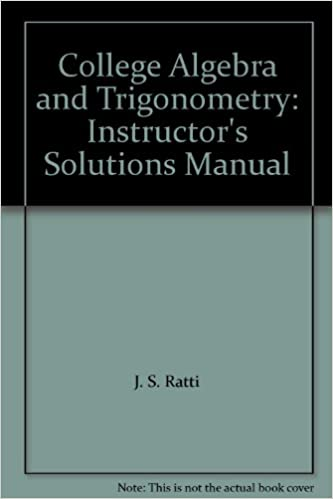 Download e books mathematics for machine technology pdf mathematics for machine technology pdf best elementary books college algebra with trigonometry instructors solutions manual fandeluxe Choice Image