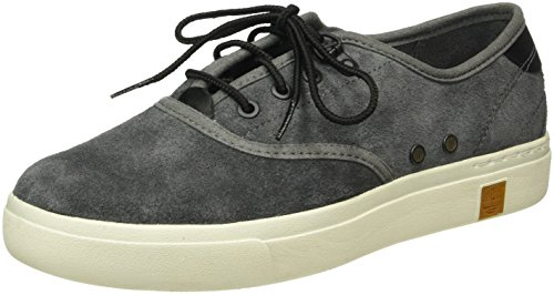 Suede Pour Amherst amherst Grises Chaussures amherst Femme Ox Timberland Un14Fwtqx