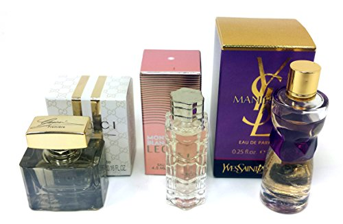 Miniature travel size fragrance set for women 3 piece bundle set all fragrances are small travel size and individually boxed