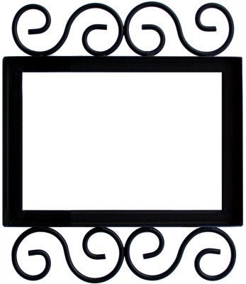 (Fine Crafts Imports Wrought Iron House Number Frame Villa 3)