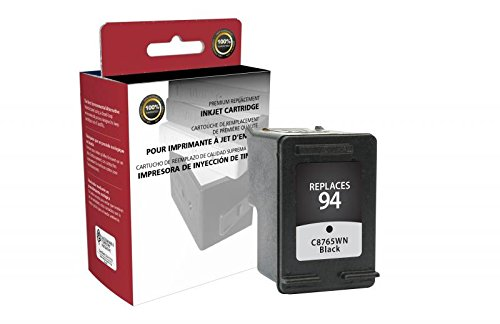(Inksters Remanufactured Ink Cartridge Repalcement for HP C8765WN (HP 94) - Black)