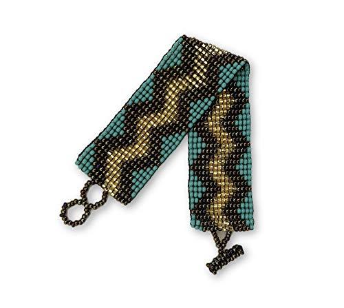 Mayan Arts Bracelets for Women, Glass Beads, Beaded, Variety Designs, Shabby Chic, Boho Look, Handmade in Guatemala (Style -