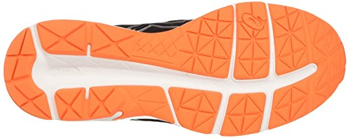 Asics Gel-Contend 4, Zapatillas De Deporte para Hombre Gris (Carbon/black/hot Orange)