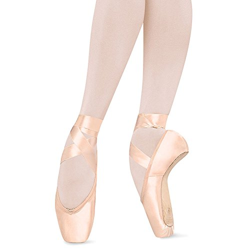 Bloch Women's Sonata Pointe Pink Ballet Flats 3.5 D by Bloch