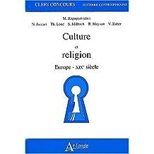 Culture et Religion Europe-xixe Siecle