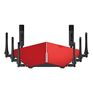 D-Link Ultra AC5300 Tri-Band Wi-Fi Router with 8 High Power Antennas, MU-MIMO and 4-Stream NitroQAM (DIR-895L/R)