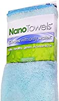 Life Miracle Nano Towels - Amazing Eco Fabric That Cleans Virtually Any Surface with Only Water. No More Paper Towels Or...