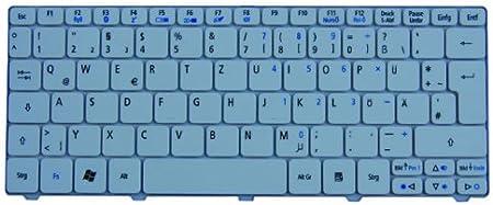 Teclado original para Packard Bell Dot S2, color blanco ...