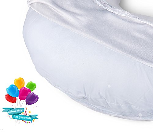 QUEEN rose bush Pregnancy Body Pillow Maternity Pillow for Back Pain as a result of 1 completely removable Pillow Cover