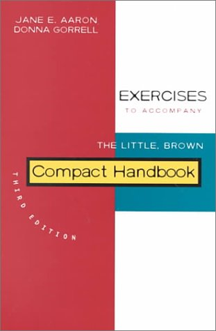 Exercises to Accompany the Little, Brown Compact Handbook
