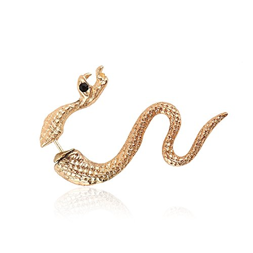 Cobra Vintage Women Fashion Jewelry Earrings Ear Stud Clips Cuff (Pack of 5) (Cobra Firefly Costumes)