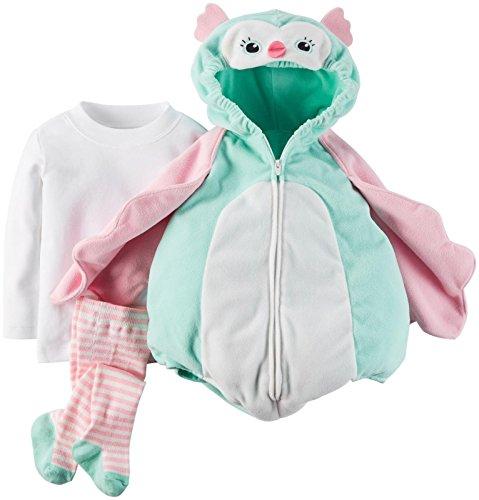 [Carter's Little Owl Halloween Costume-12 Months] (Infant Owl Halloween Costumes)