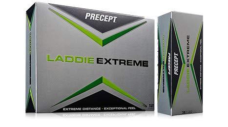 Precept Laddie Extreme 2017 Double Dozen Yellow Golf Balls by Precept