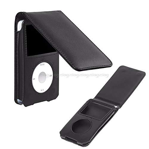 V2AMZ - Leather Cover Case For Pod Classic 80/120/160GB With Detachable Clip Protective Case JUN23 ping ()