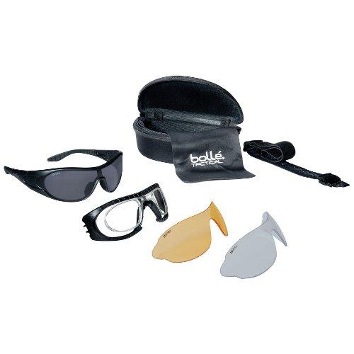 Bolle Raider Ballistic Spectacles - Clear, Smoke, Yellow Len