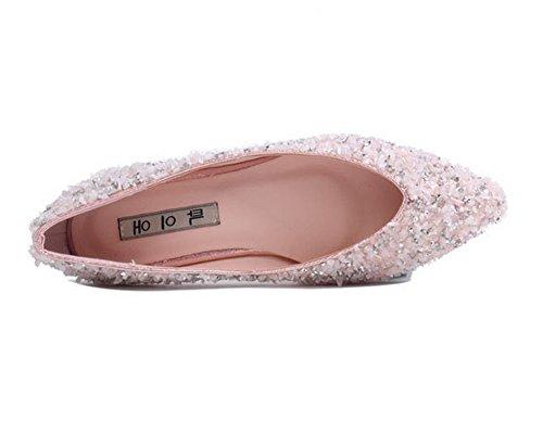 Sandales 1TO9 Rose Mmsg00393 Femme Compensées RwqTzO