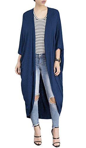 HX fashion Cardigan Femme Longue