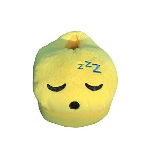Smile Emoti–Hausschuhe Sleep Emoticon Winter Warm Sleeping Design Hausschuhe