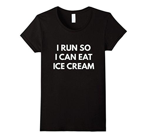 i run for ice cream shirt - 1
