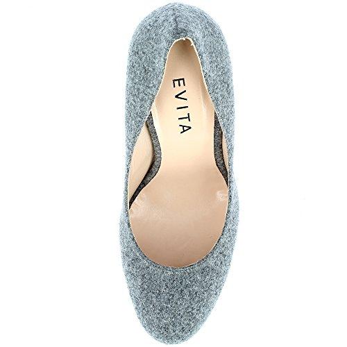 Evita ShoesCRISTINA - caño medio Mujer gris