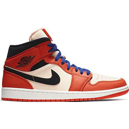 Nike Air Jordan 1 Mid SE 852542-800 Team Orange/Black-Crimson Tint