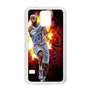 LeBron James HILDA0113214 Phone Back Case Customized Art Print Design Hard Shell Protection SamSung Galaxy S5 G9006V