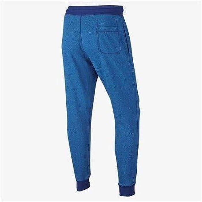 e4f678ea2 Men's AW77 Shoebox Cuffed Sweatpants (727397-455) - DEEP Royal Blue/Light  Photo Blue/Heather