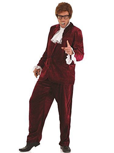 Fun Shack Adult Austin Powers Red Costume - LARGE by Fun Shack