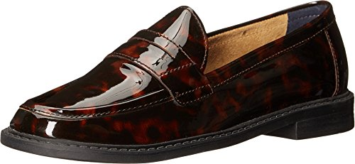 Cole Haan Womens Pizzico Campus Penny Loafer Stampa Tartaruga Brevetto