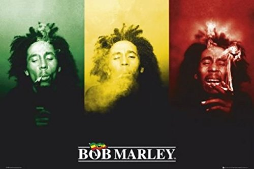 - Scorpio Bob Marley Smoke Wall Poster