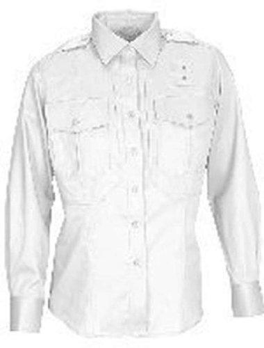 Camisa Tactical 5.11 PDU de sarga de manga larga, clase A, blanca, 4X
