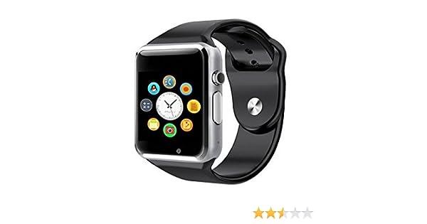 AlbitaStore A1 Smart Watch (Disponible en Español) / Reloj inteligente A1 / Reloj Bluetooth / Reloj Android / Reloj para la salud con pantalla táctil y ...