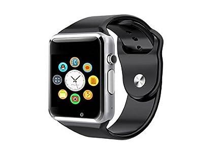 AlbitaStore A1 Smart Watch (Disponible en Español) / Reloj inteligente A1 / Reloj Bluetooth