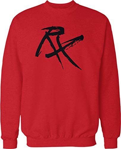Hoodteez RX Workout Prescription Crew Neck Sweatshirt, XL Red