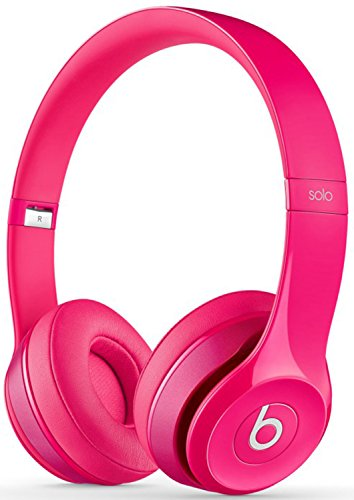 Beats Solo2 Wired On Ear Lightweight Headphones Pink(NEW) by Beats