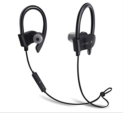 Gerteise Universal 4.1 Wireless Stereo Earphone Mini Wireless Bluetooth Earbuds Sport Headphone Headset (Black)